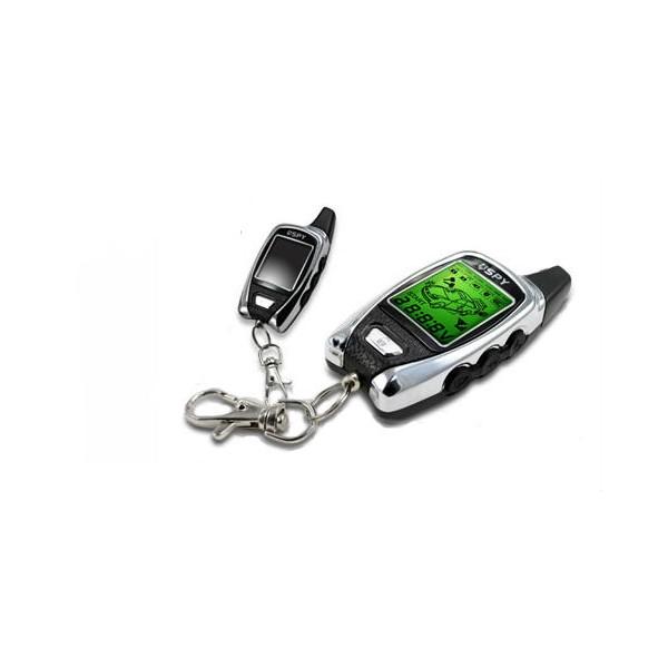 Alarma para coche SPY LC113 FM5000 con 2 Mandos, Sensor de Golpes y Microondas