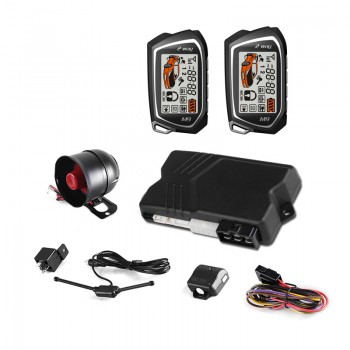 Alarma Coche SPY F10S con Sensor Golpes + Microondas y Auto Arranque