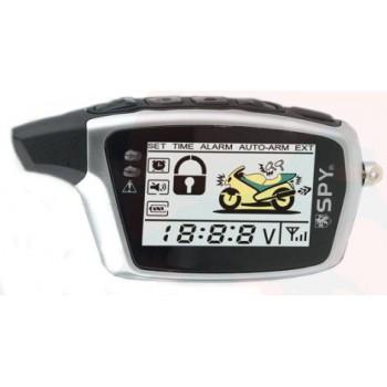 Alarma de Moto SPY LM212 con 2 mandos,sensor golpes, microondas y autoarranque